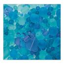 S&S Worldwide Sea Glass Bead Assortment, Ocean Wave