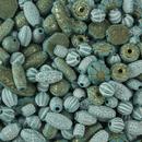 S&S Worldwide Old World Bead Mix - Turquoise