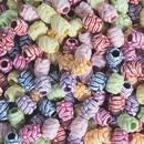 Vintage-Look Carved Floral Bead