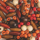 S&S Worldwide Wooden Jewelry Bead Mix