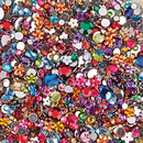 S&S Worldwide Faceted Acrylic Gemstones, 1/2 lb.