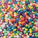 S&S Worldwide Pearl Alpha Beads 1/2-lb Bag