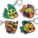 S&S Worldwide Fish Sun Catcher Key Chains Craft Kit