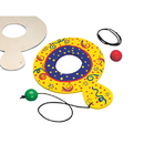 Wooden Paddle Ball Game Craft Kit