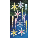 S&S Worldwide Snowflake and Icicle Beaded Ornament