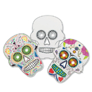 S&S Worldwide Color-Me Sugar Skull Masks