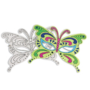 S&S Worldwide Butterfly Half Masks