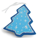 Color-Me Ceramic Bisque Tree Ornament (makes 24)