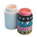 Color-Me Ceramic Bisque Mason Jar