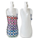 S&S Worldwide Color-Me Collapsible Water Bottles (pack of 50)