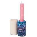Color-Me Ceramic Bisque Candleholders
