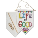 Color-Me Fabric Banners (pack of 12)