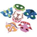 Dinosaur Foam Masks for Pretend Play