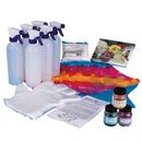 S&S Worldwide Fabric Rainbow Tie Dye Kit for 8-12 shirts
