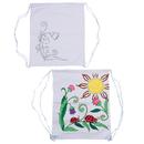 Color-Me Printed Flower Backpack
