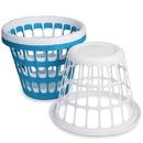 S&S Worldwide Sterilite Round Plastic One-Bushel Capacity Laundry Basket