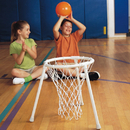 S&S Worldwide Floor Basketball Set