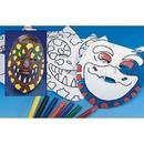 S&S Worldwide Dino Masks Craft Kit