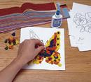 Tissue Paper Collage Craft Kit