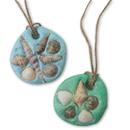 EduCraft Sand Dollar Necklace Craft Kit