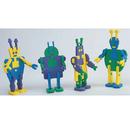 S&S Worldwide Super Foam Alien Robots Craft Kit