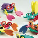 S&S Worldwide Super Foam Kooky Creatures Craft Kit