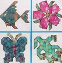 S&S Worldwide Mineral Mosaics Craft Kit