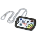 S&S Worldwide Dog Tag Necklaces Craft Kit