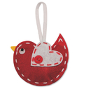 S&S Worldwide Stitched Bird Ornament Craft Kit