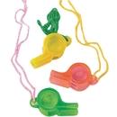 Plastic Whistle Necklace