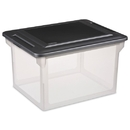 Sterilite File Storage Box Letter/Legal with Lid