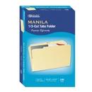 1/3 Cut Legal Size Manila File Folder
