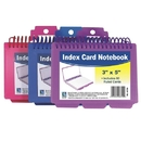 Spiral Bound Index Card Notebook With Tabs