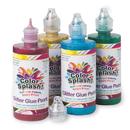4-oz. Color Splash! Glitter Glue/Paint Set