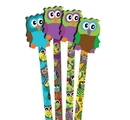 Musgrave Owl Pencils and Erasers (pack of 36)