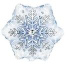 Cti Industries Snowflake Mylar Balloon (pack of 10)