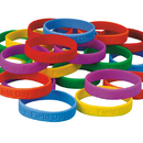 S&S Worldwide Field Day Silicone Bracelet (pack of 24)