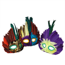 S&S Worldwide Assorted Feather Masks (pack of 12)