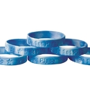 S&S Worldwide 1st Place Silicone Bracelet (pack of 24)