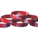 S&S Worldwide 2nd Place Silicone Bracelet (pack of 24)