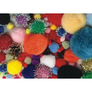Pom Poms - Assorted Sizes and Colors