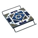 S&S Worldwide Black Square Cradle Trivet