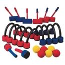 S&S Worldwide Foam Croquet Six-Player Set