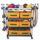 S&S 4 Level Cart with 6 Baskets
