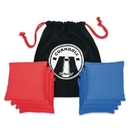 Go Sports Official Corn Hole Toss Beanbags (4 Blue / 4 Red)