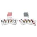 S&S Worldwide S&S Plastic Playing Cards, 2 Decks