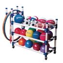S&S Worldwide Roll 'N Go JV Cart with Equipment Easy Pack