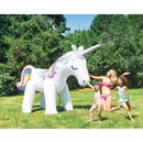 Big Mouth Ginormous Unicorn Inflatable Yard Sprinkler