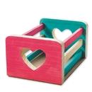 Unfinished Heart Basket, Unassembled