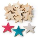 S&S Worldwide Wooden Stars